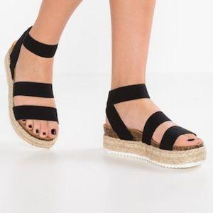 Steve Madden Platform Espadrille Sandals